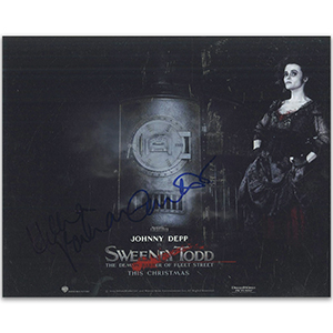 Helena Bonham Carter - Autograph - Signed Colour Photograph