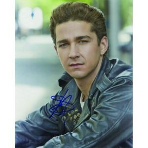 Shia LaBeouf - Autograph - Signed Colour Photograph