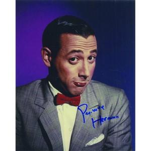 Pee-wee Herman - Autograph - Signed Colour Photograph