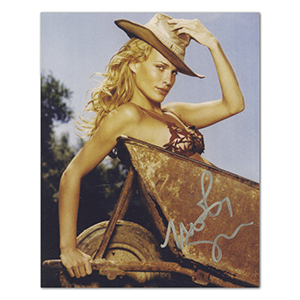 Molly Sims Autograph Signed Photograph