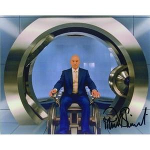 Patrick Stewart  Autograph Signed Colour Photograph