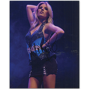 Mollie King - Autograph - Signed Colour Photograph