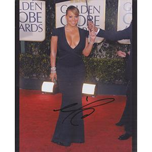 Mariah Carey Autograph Signed Photograph
