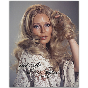Veronica Carlson Autograph Signed Photograph