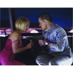 Matt Damon & Ellen Barkin - Autograph - Signed Colour Photograph