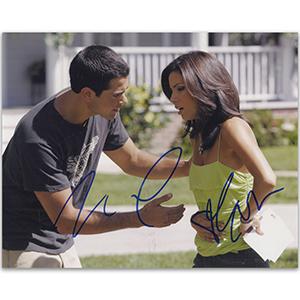 Eva Longoria & Jesse Metcalfe - Autograph - Signed Colour Photograph