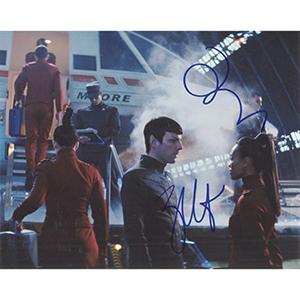 Zachary Quinto & Zoe Saldana (Star Trek)