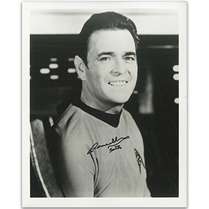 James Doohan Autograph Signed Photograph