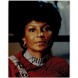 Nichelle Nichols - Autograph - Signed Colour Photograph