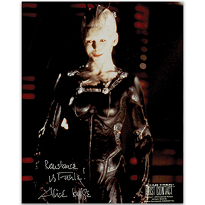 Alice Krige - Autograph - Signed Colour Photograph