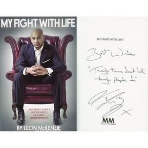 Leon McKenzie - Autograph - Signed Book