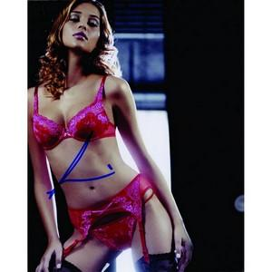 Ana Beatriz Barros - Autograph - Signed Colour Photograph