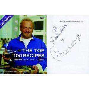 Antony Worrall Thompson - Autograph - Signed Book