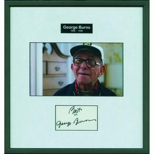 George Burns - Autograph - Signed Colour Photograph