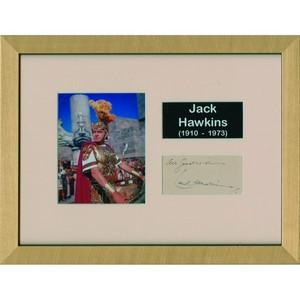 Jack Hawkins - Autograph - Signed Colour Photograph