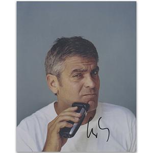 George Clooney - Autograph - Signed Colour Photograph