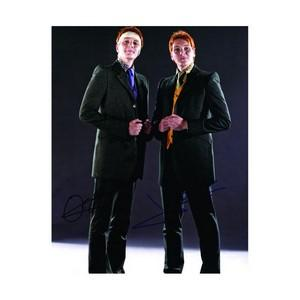 James & Oliver Phelps -  Fred and George Weasley Harry Potter  - Autograph