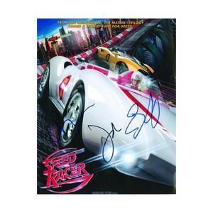 Speed Racer - Emile Hirsch, Christian Ricci & Jl Silver Autographs