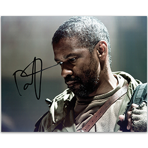 Denzel Washington Autograph Signed Photograph