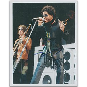 Lenny Kravitz Autograph Signed Photograph