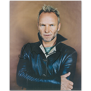 Sting - Autograph - Signed Colour Photograph