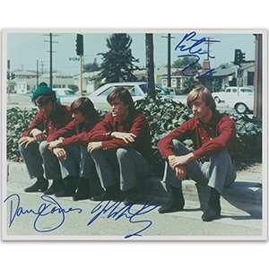 The Monkees - Autograph - Signed Colour Photograph