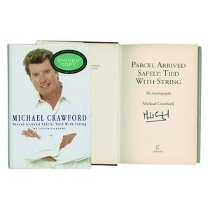 Michael Crawford - Autograph - Signed Book