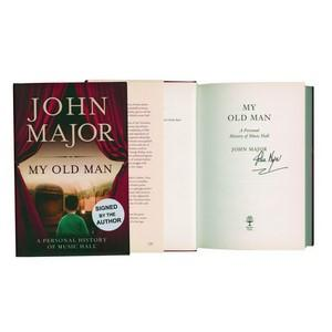 John Major - Autograph - Signed Book