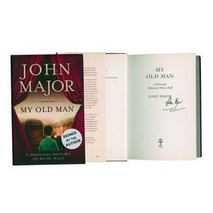 John Major - Autograph - Signed Book