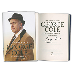 George Cole - Autograph - Signed Book
