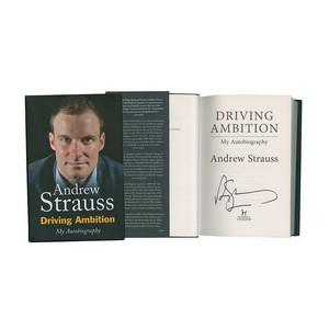 Andrew Strauss - Autograph - Signed Book