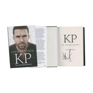 Kevin Pietersen - Autograph - Signed Book