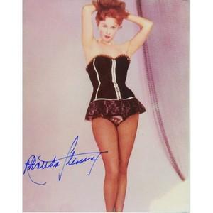 Rhonda Fleming - Autograph - Signed Colour Photograph