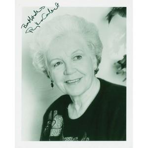 Phyllis Calvert Autograph Signed Photograph