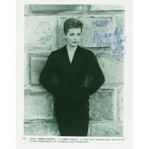 Amanda Donoh Autograph Signed Photograph