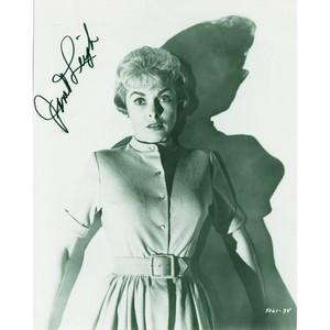 Janet Leigh - Autograph - Signed Black and White Photograph