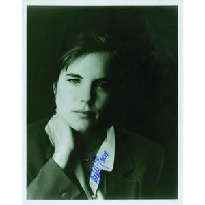 Elizabeth McGovern - Autograph - Signed Black and White Photograph