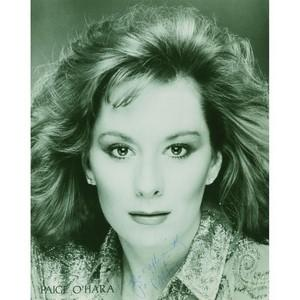 Paige O'Hara - Autograph - Signed Black and White Photograph