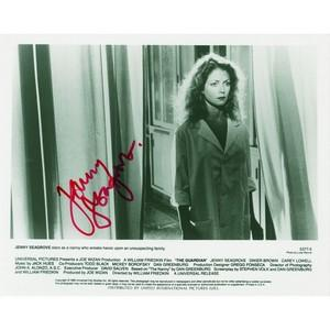 Jenny Seagrove - Autograph - Signed Black and White Photograph