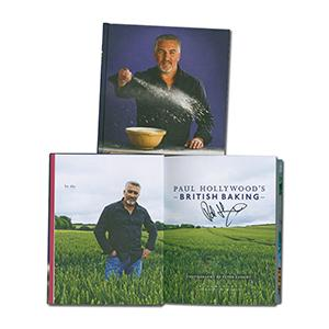 Paul Hollywood - Autograph - Signed Book