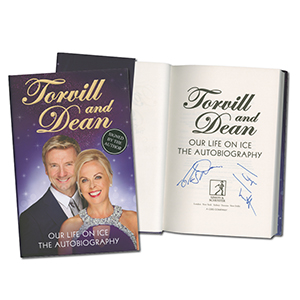 Jayne Torvill & Christopher Dean - Autograph - Signed Book
