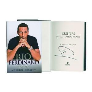 Rio Ferdinand - Autograph - Signed Book