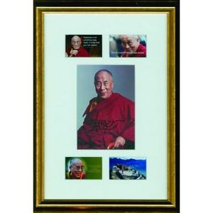 Dalai Lama (Framed) - Autograph - Signed Colour Photograph