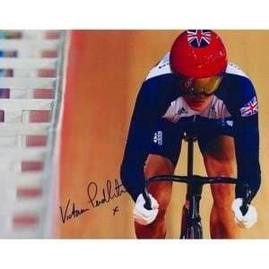 Victoria Pendleton - Autograph - Signed Colour Photograph