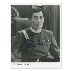 George Takei - Autograph - Signed Black and White Photograph