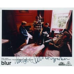 Blur - Autograph - Signed Colour Photograph