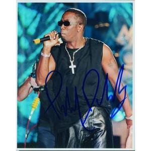 Puff Daddy - Autograph - Signed Colour Photograph