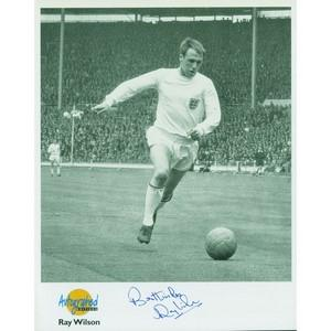 Ray Wilson Autograph Signed Photograph