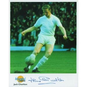 Jack Charlton - Autograph - Signed Colour Photograph