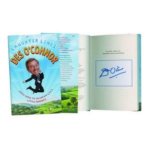 Des O'Connor - Autograph - Signed Book